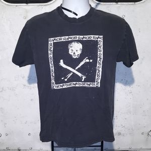 Vintage Rancid Punk Band T shirt size medium